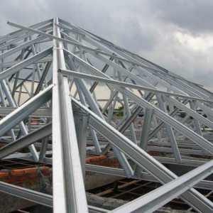 prefabricated_light_steel_roof_beams